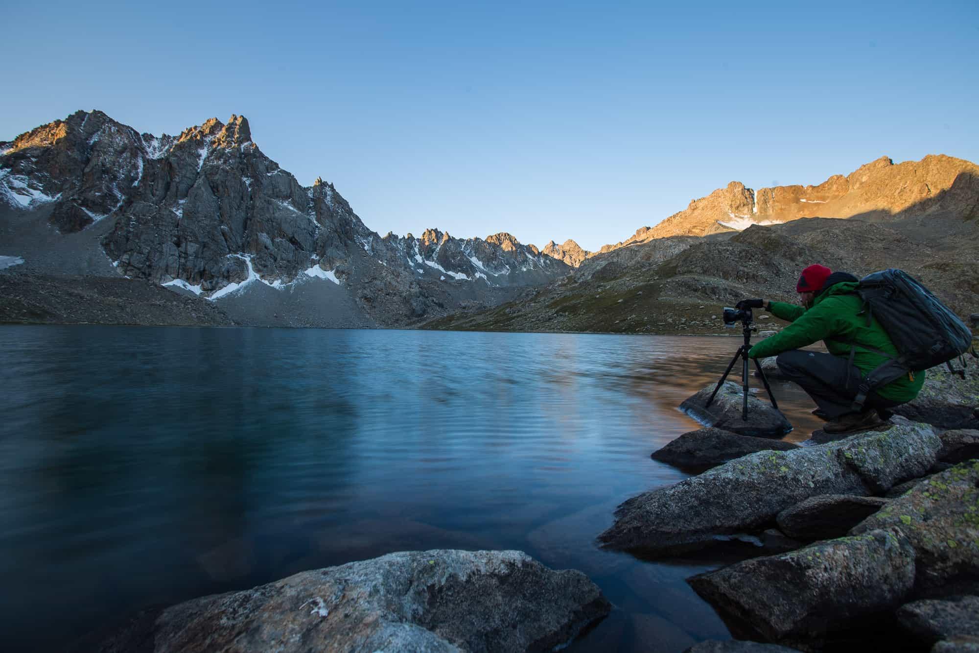 Boz Uchuk Lakes Trek, Jyrgalan