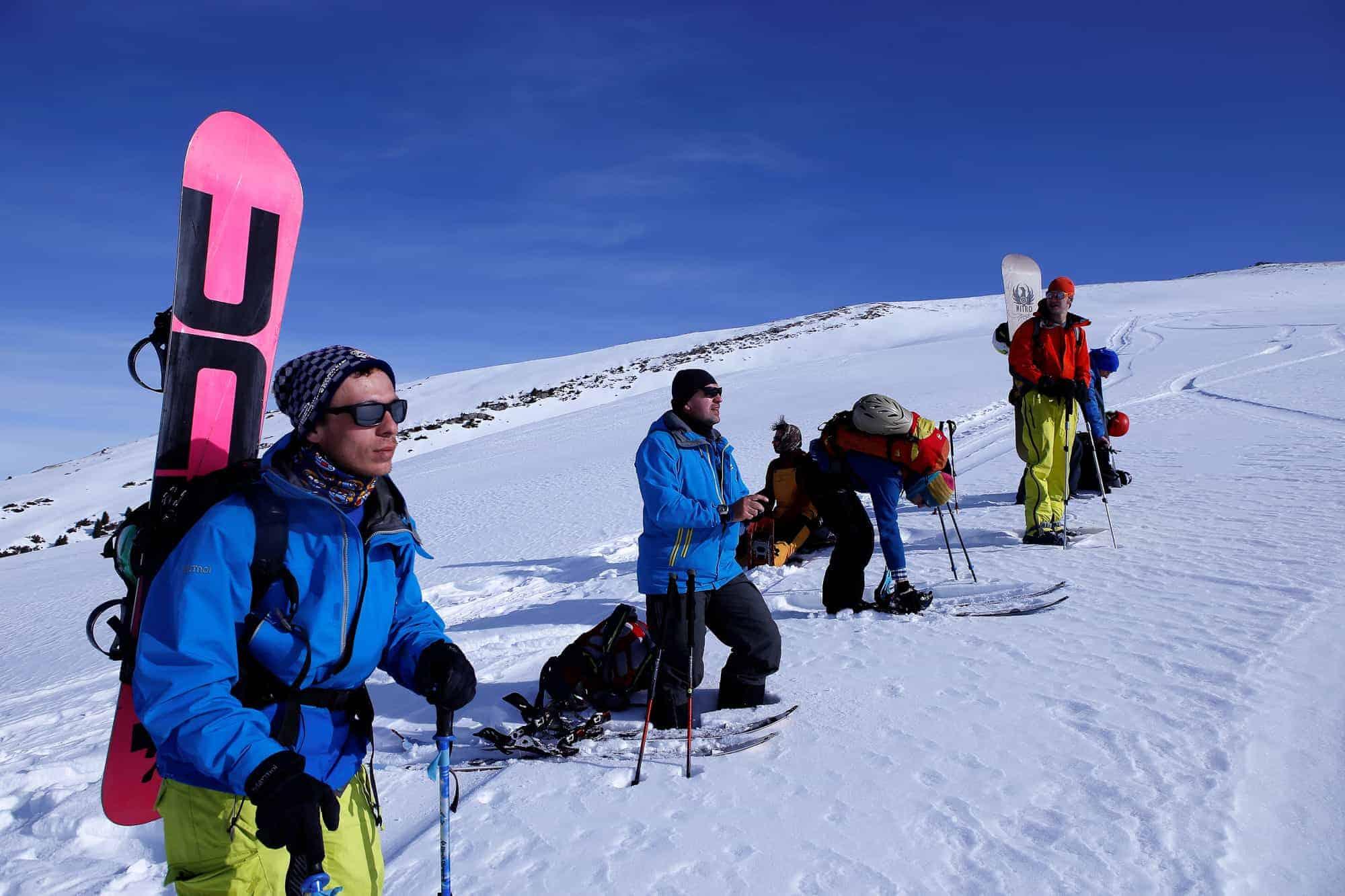 Jyrgalan Freeride Snowboarding