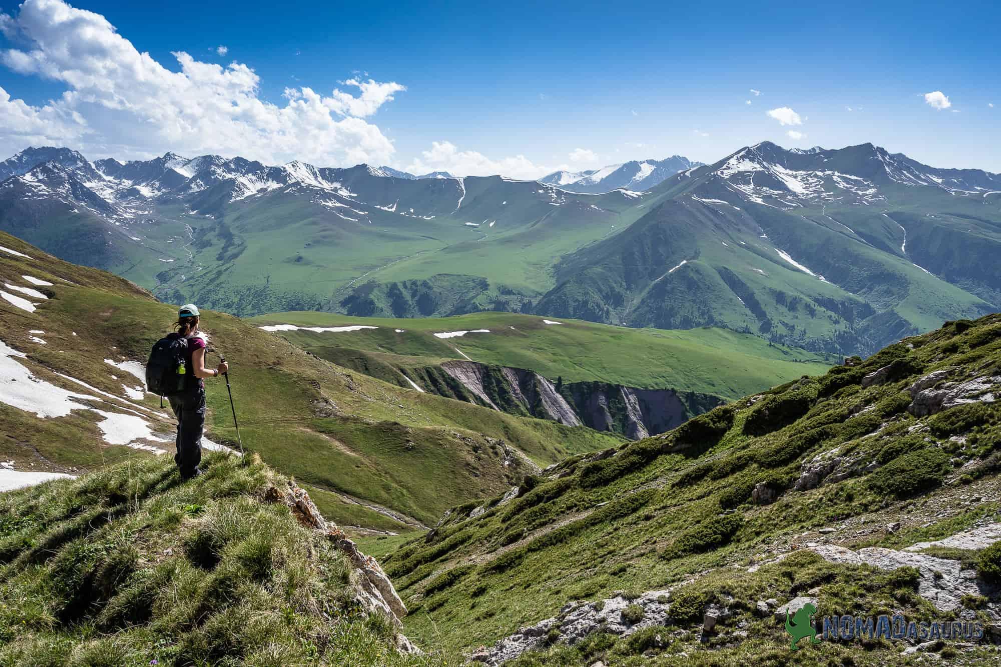 Trekking in Jyrgalan