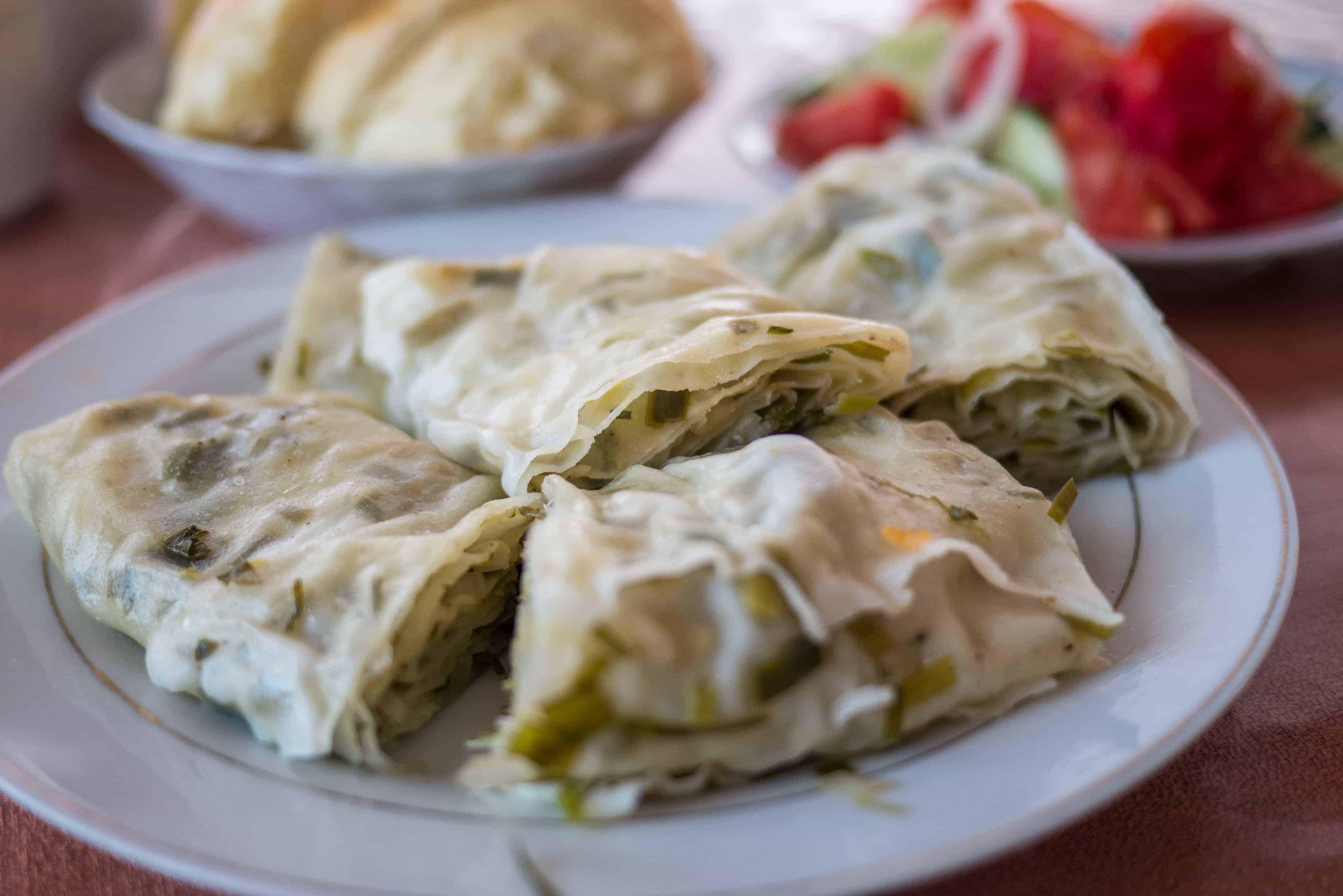 Dinner at Salamat Guesthouse