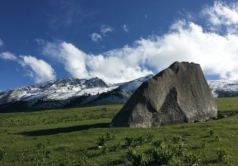 Natural Attractions in Jyrgalan Valley, Kyrgyzstan