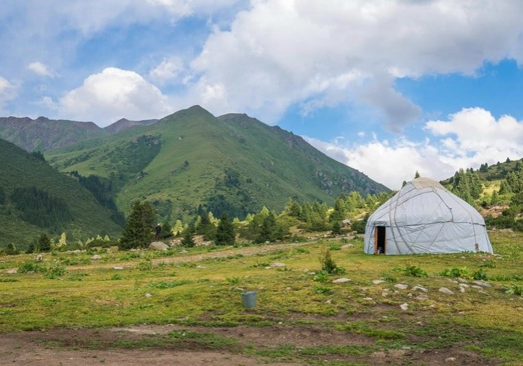 Yurt Stay in Jyrgalan Valley, Kyrgyzstan