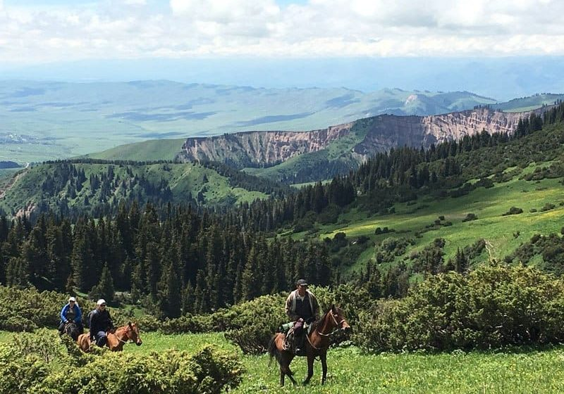 Horse Treks in Jyrgalan, Kyrgyzstan