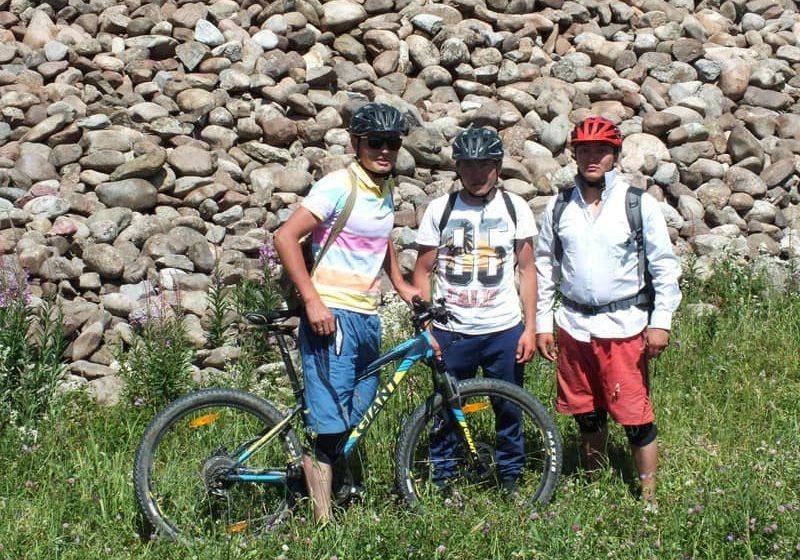 Mountain Biking in Jyrgalan Valley, Kyrgyzstan